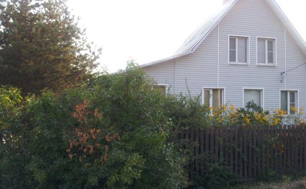 Жилой двух этажный дом в д. Телешово